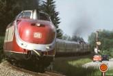 Alpensee-Express bei der Ausfahrt in Dießen