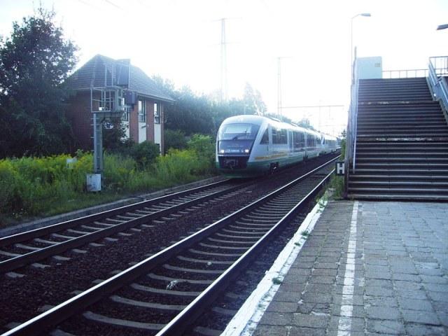 VX durcheilt Berlin-Karlshorst