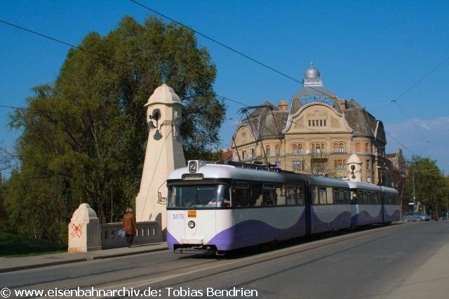 18.04.2011: ex Bremer 3476 in Timisoara (Linie 2).