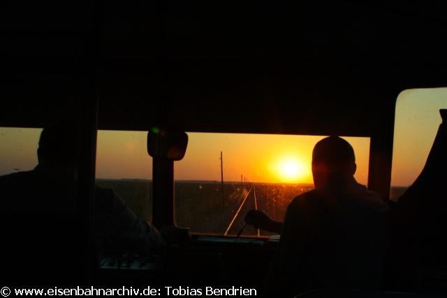 20.04.2011: Originaler 812 auf der Fahrt in den Abend von Kikinda nach Subotica.