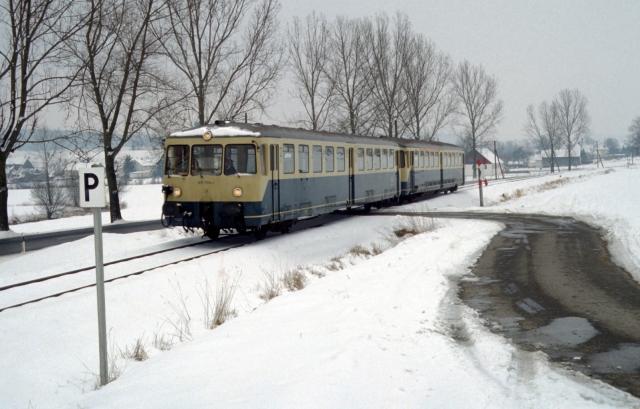 Baureihe 515 bei Niederraunau
