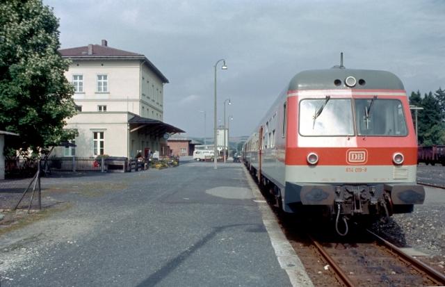614 019 in Mellrichstadt