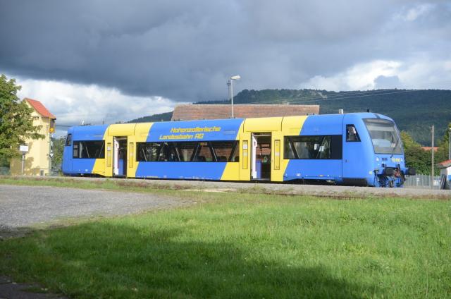 VT 45 der HzL in Schömberg