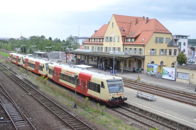 VT 219 der HzL in Balingen