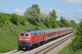 218 467 mit RE bei Epfenhausen