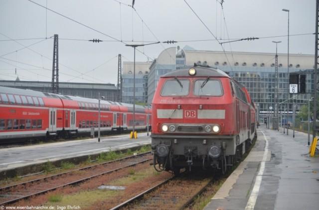 218 444 in München Hbf
