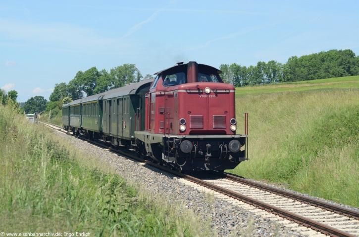 213 335 am 7.06.2014 bei Wolfegg (Aulendorf - Kißlegg)