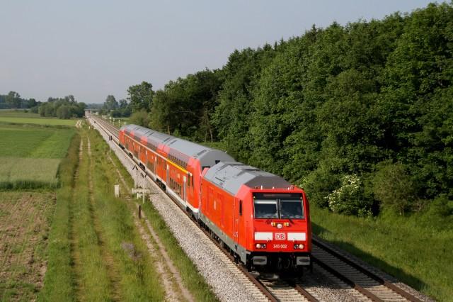 245 002 RE 57339 Marktoberdf-Augsburg Buchloe