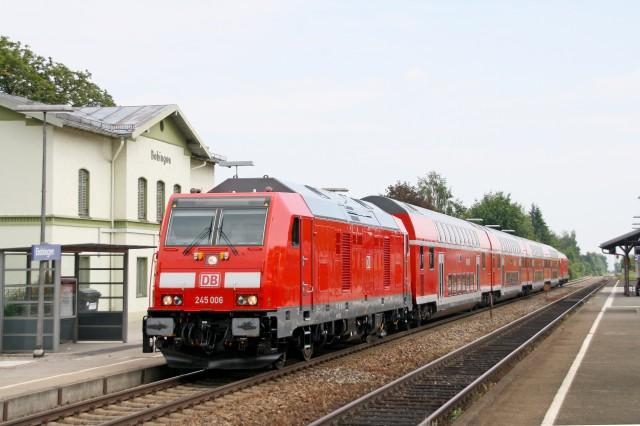 245 006 RE 57664 Augsburg-Buchloe Bobingen