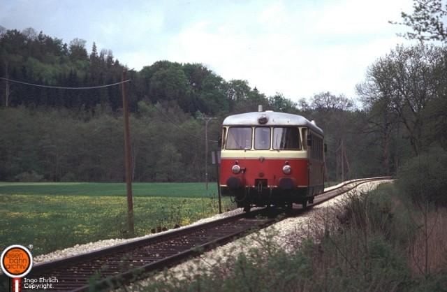 MAN Triebwagen bei Hanfertal