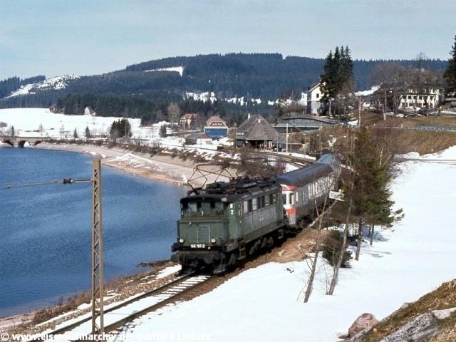 E 45 167 am Schluchsee