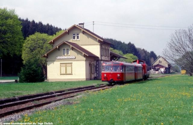 VT 95 im Bahnhof Riedöschingen