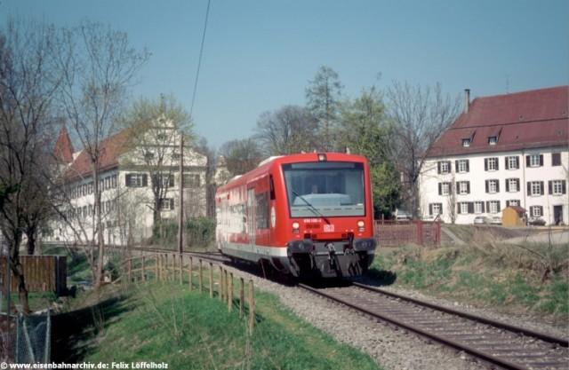 650 108 bei Bad Schussenried Kloster