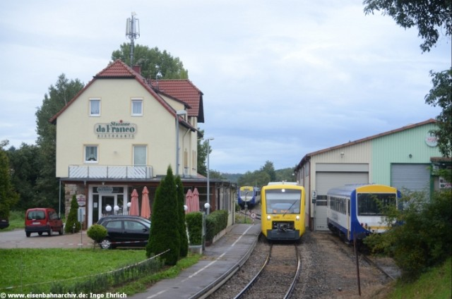 VT 361 der WEG in Weissach