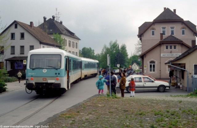 628 278 auf der Strecke Meckenbeuren-Tettnang