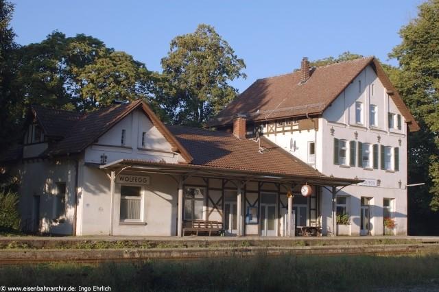 Bahnhof Wolfegg