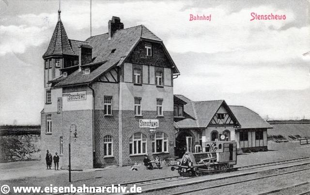 Bahnhof Stenschewo