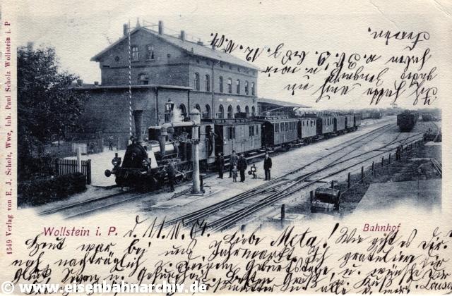 Bahnhof Wollstein