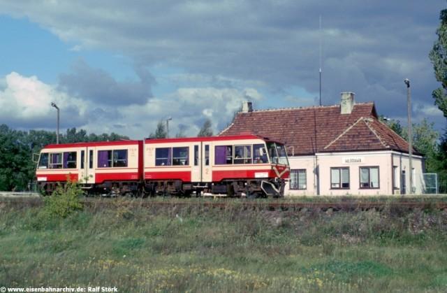 Bahnhof Wlodawa an der Schmalspurbahn Chelm-Wlodawa