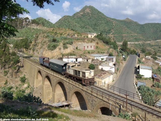 5-Bogen-Viadukt bei Arbaroba