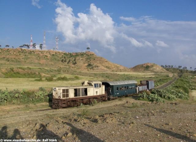 Zug bei Asmara