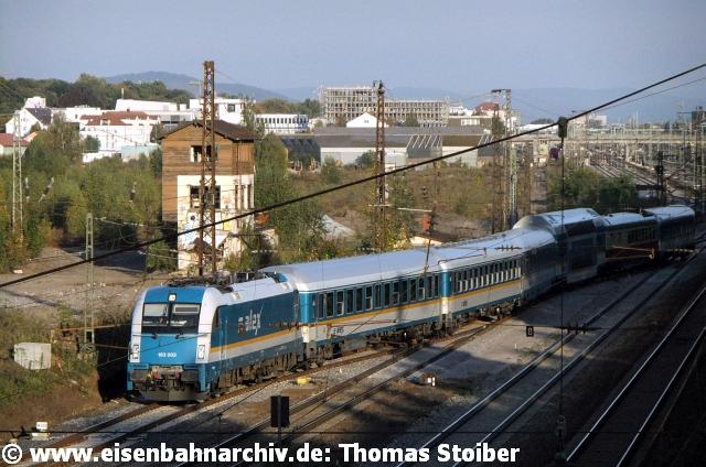 Während dieses Umbaus kamen auch die ALEX-Züge zum Umsetzen ausnahmsweise weit in den Stadtwesten.