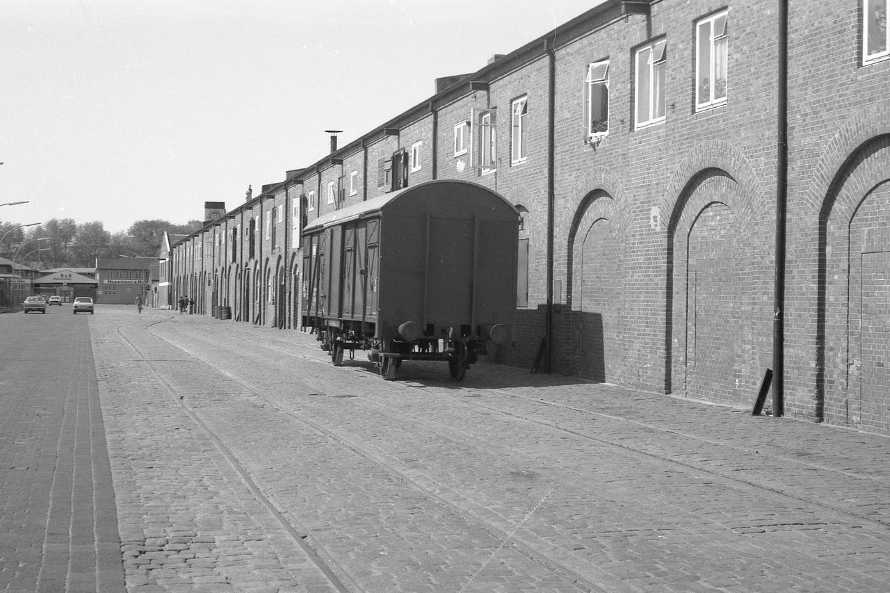 Der Fahrplan ließ noch Zeit füreinen Spaziergang zu den alten Fischhallen. Hier fanden sich einige Güterwagen.