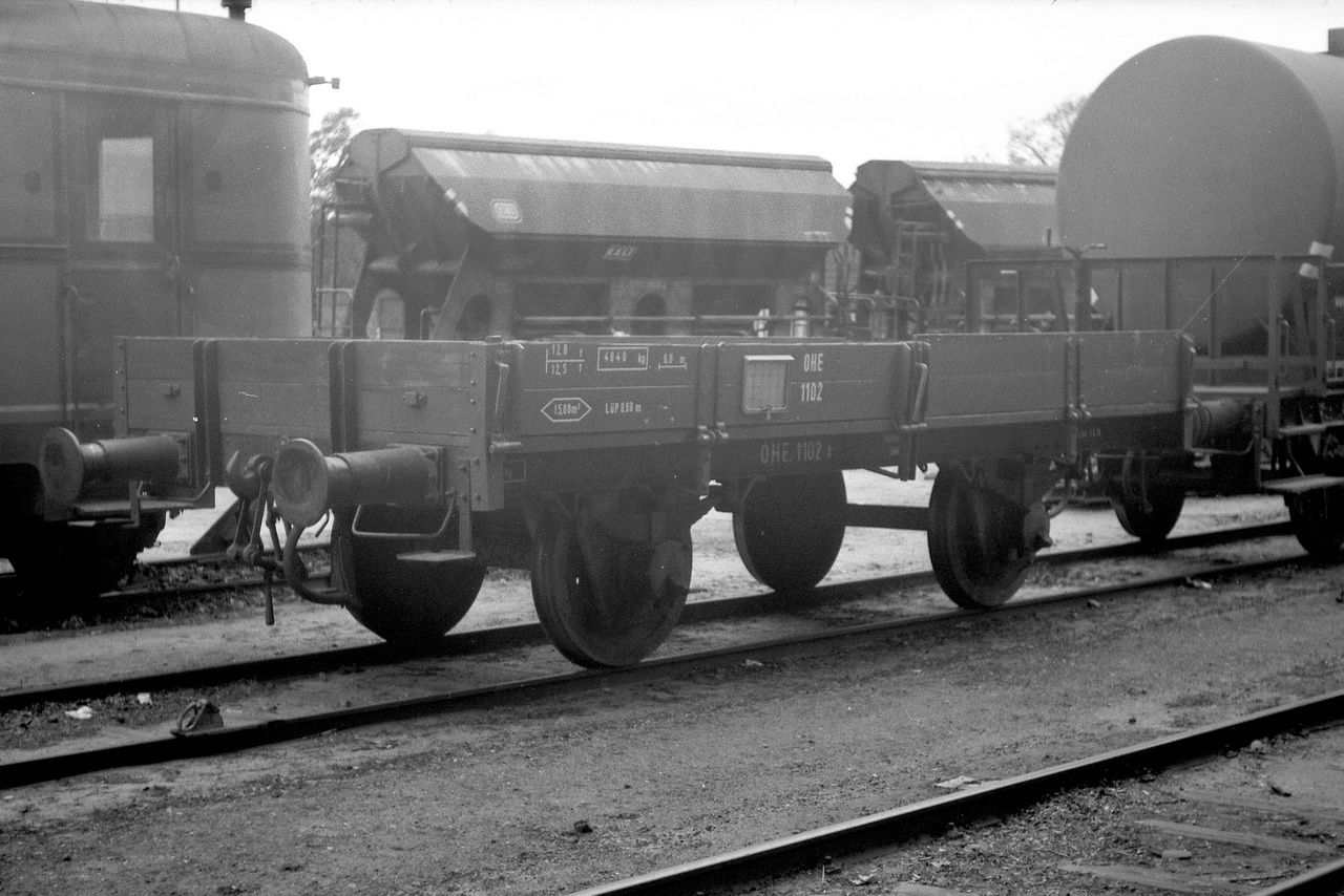 Daneben fanden sich dort noch der X-Wagen 1102.