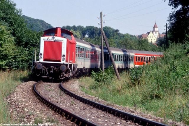 212 250 bei der Ausfahrt Gräfenberg