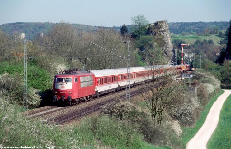 Autozug Christoporus am 26.04.2000 bei Dollnstein