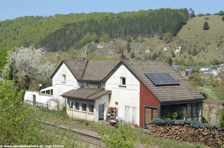 Ehemaliger Bahnhof von Obereichstätt (21.04.2018)