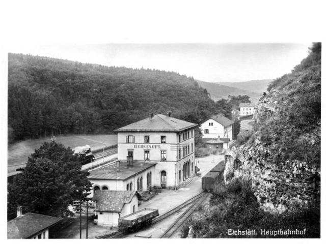 150 Jahre Ingolstadt - Eichstätt - Treuchtlingen - Eröffnung am 12. April 1870